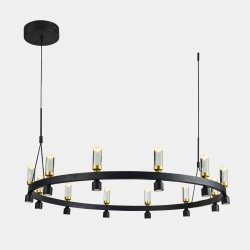 NOWOCZESNA LAMPA WISZĄCA LED ITALUX ALMELO PND-83812-24
