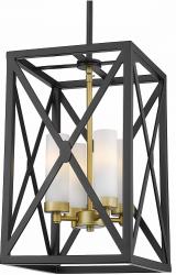 LAMPA WISZĄCA COSMO LIGHT DUBLIN P04124BZ