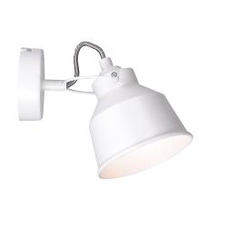 LAMPA KINKIET NIKO 310972 BIAŁY POLUX