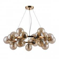 NOWOCZESNA  LAMPA WISZĄCA ITALUX CABELLA PND-5252-25-GD-CGN