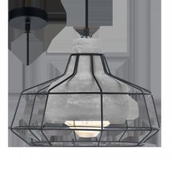 LAMPA WISZĄCA BETONOWA CONSETT LOFT 49781 EGLO