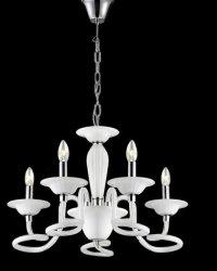 LAMPA SUFITOWA WISZĄCA AZZARDO BOLTON 5 B0038-5P WH