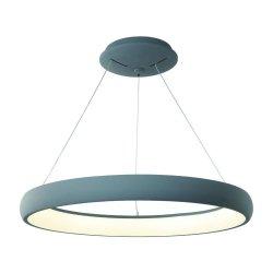 OKRĄGŁA LAMPA WISZĄCA ROTTO GREY S 3000K ORLICKI DESIGN LED 50W