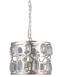 LAMPA WISZĄCA Z KRYSZTAŁKAMI ITALUX MOMENTO PND-43400-3 NOWOCZESNA
