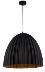 NOWOCZESNA LAMPA SUFITOWA SIGMA TELMA BLACK-COPPER 32021