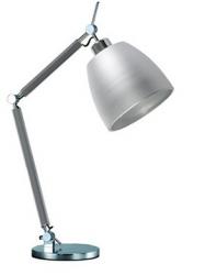 NOWOCZESNA LAMPA STOŁOWA NOCNA AZZARDO ZYTA S TABLE ALUMINIOWA ALU AZ2307+AZ2593