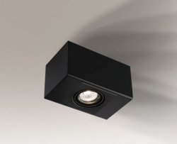 LAMPA SUFITOWA SPOT REFLEKTOR SETO H 1214 SHILO CZARNA