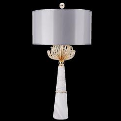 LAMPA STOŁOWA NOCNA CARTAGENA T02004AU  COSMO LIGHT MARMUR