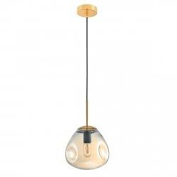 NOWOCZESNA LAMPA WISZĄCA ITALUX FELLET ZŁOTA PND-8455-1-CN