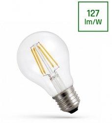 ŻARÓWKA LED GLS E-27 230V 6W COG NW CLEAR SPECTRUM NEUTRALNA