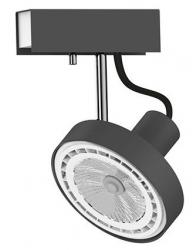 LAMPA SUFITOWA SPOT CROSS GRAPHITE 9598 NOWODVORSKI