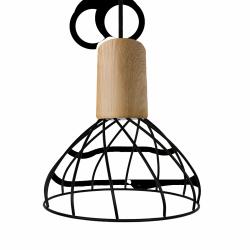 DRUCIANA LAMPA WISZĄCA LIGHT PRESTIGE MODERNO LP-1221/1P S BK