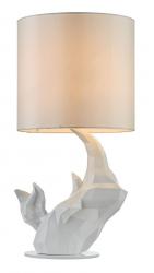NOWOCZESNA LAMPA STOŁOWA GLAMOUR MAYTONI NASHORN MOD470-TL-01-W