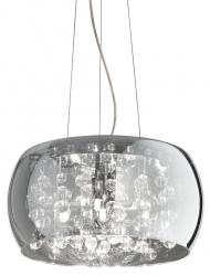 KRYSZTAŁOWA LAMPA WISZĄCA AUDI-80 SP5 IDEAL LUX