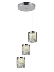 NOWOCZESNA LAMPA WISZĄCA LED LIGHT PRESTIGE CANTOS LP-1114/3C