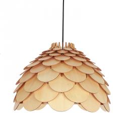 DREWNIANA LAMPA WISZĄCA LIGHT PRESTIGE BURGO LP-101335/1P L