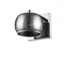 LAMPA WEWNĘTRZNA (KINKIET) ZUMA LINE VISTA WALL W0076-01B-B5GR SZARY