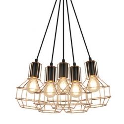 ZUMA LINE GIULIO PENDANT P12105-L-5 LAMPA WEWNĘTRZNA WISZĄCA