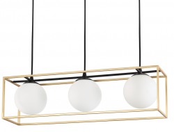 NOWOCZESNA LAMPA WISZĄCA LINGOTTO SP3 IDEAL LUX
