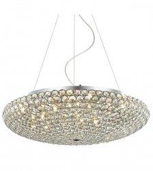 LAMPA WISZĄCA KRYSZTAŁOWA ITALUX SANTO MA04995CA-012