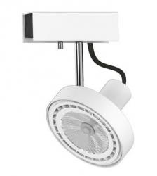 LAMPA SUFITOWA SPOT CROSS WHITE 9603 NOWODVORSKI