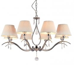 NOWOCZESNA LAMPA SUFITOWA GLAMOUR MAYTONI TALIA MOD334-WL-08-N