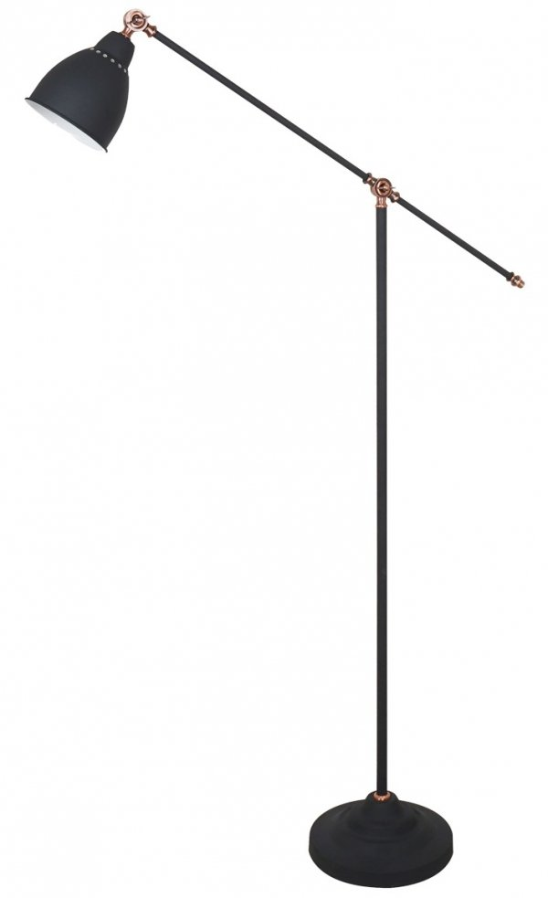 czarna lampa podłogowa italux sonny ML-HN3101-1-B