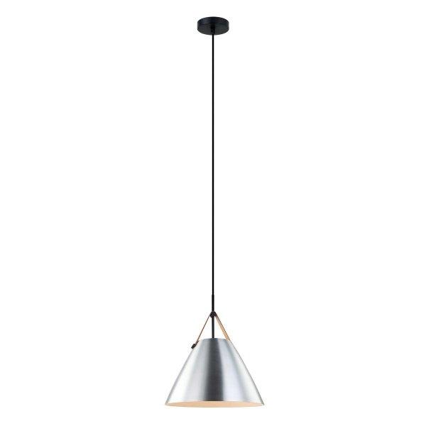 SREBRNA LAMPA WISZĄCA DO JADALNI ITALUX QUANTO PEN-5026-1-L-BR