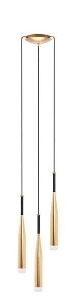 ZUMA LINE CONTE MD1998A-3GL NOWOCZESNA LAMPA WISZĄCA DO SALONU SZKLANA