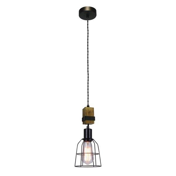 INDUSTRIALNA LAMPA WISZĄCA ITALUX PONTE PND-4290-1-L DRUCIANA VINTAGE