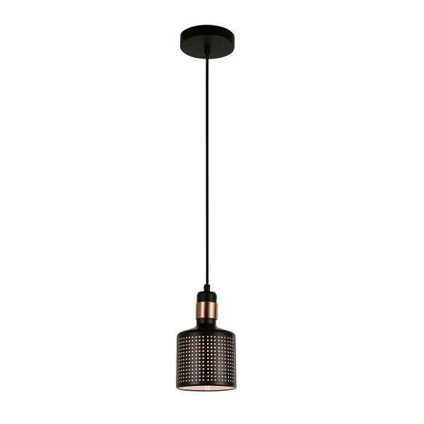 NOWOCZESNA LAMPA WISZĄCA ITALUX  RESTENZA PND-2439-1-BK