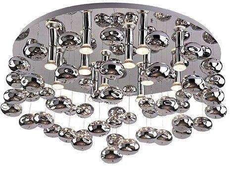 LAMPA PLAFON SUFITOWY AZZARDO LUVIA 80 2172-6X-D80