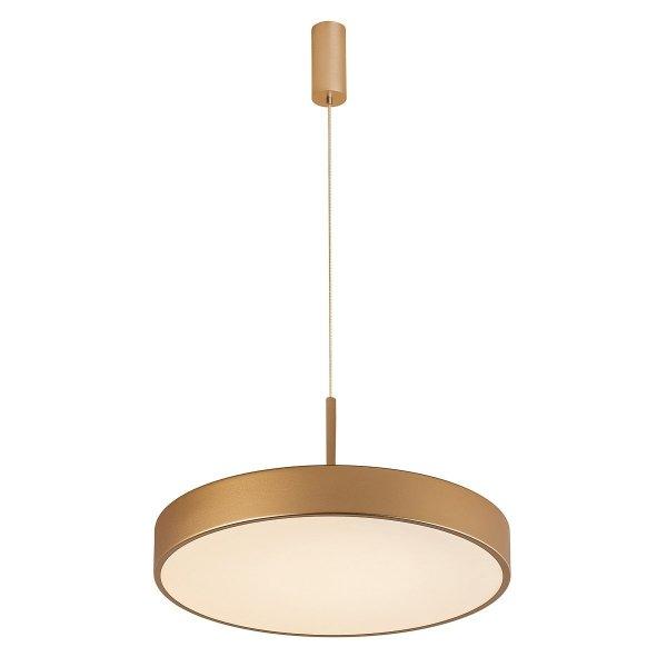 ITALUX ORBITAL LAMPA WISZĄCA LED 5361-830RP-GD-3 ZŁOTY PIASKOWANY