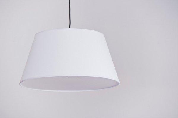 LAMPA WISZĄCA Z ABAŻUREM BIAŁA AZZARDO NATALIA S MD2238-1S WH / AZ1924+AZ2592