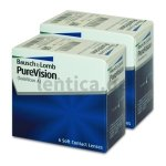Purevision Spheric 2 x 6  BC 8.6 Bausch&Lomb