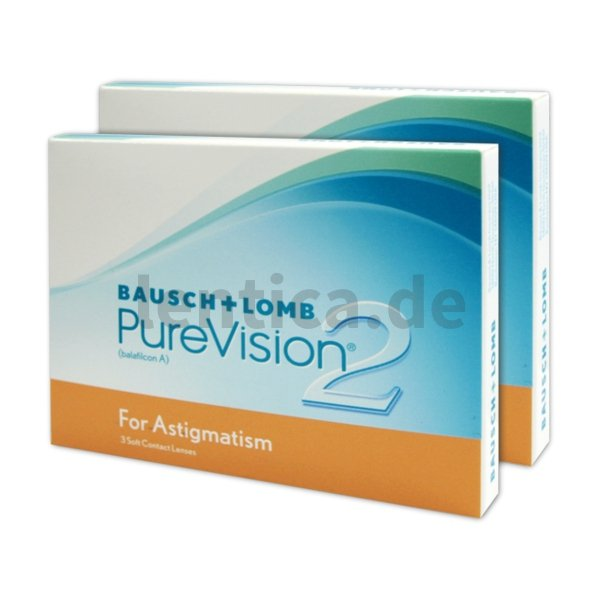 Bausch & Lomb Pu­re­Vi­si­on 2 HD for As­tig­ma­tism (2 x 3 Stk.)