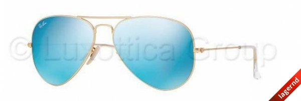 Ray-Ban RB 3025 112/17 58-14 AVIATOR LARGE METAL