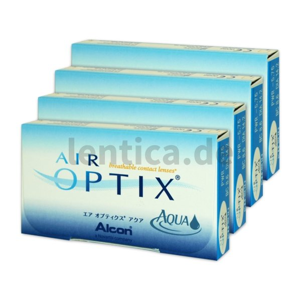 Air optix Aqua 4 x 6 Stck.