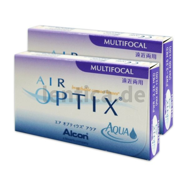 Air optix aqua multifocal 2 x 3 Stck.