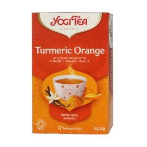 Yogi Tea - Turmeric Orange - Herbata 17 Torebek