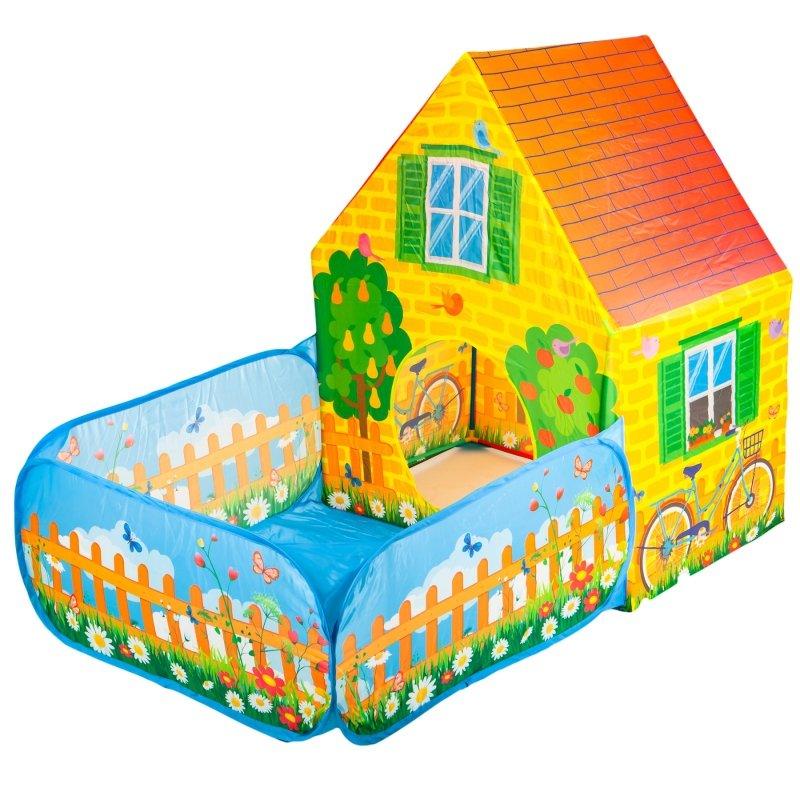 Namiot dla dzieci domek suchy basen Farma IPLAY NAMIOTY