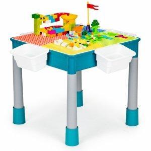 Stolik do zabawy krzesełko klocki dla dzieci