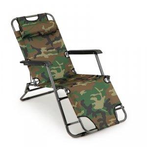 Leżak fotel ogrodowy plażowy