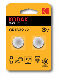 Kodak CR1632 Jednorazowa bateria Lit