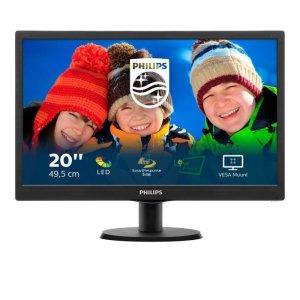 Monitor Philips 203V5LSB26/10 (19,5; TN; 1600x900; VGA; kolor czarny)