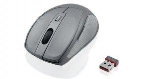 Mysz IBOX SWIFT IMOS604 (optyczna; 1600 DPI; kolor szary