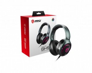 Słuchawki z mikrofonem MSI Immerse GH50 (kolor czarny)