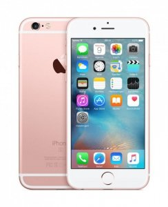 Smartfon Apple iPhone 6S 16GB Rose Gold (4,7; Retina; 1334x750; 2GB; 1715mAh; Remade/Odnowiony)