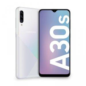 Smartfon Samsung Galaxy A30s 64GB White (6,4; dotykowy, Super AMOLED; 1560x720; 4GB; 4000mAh)
