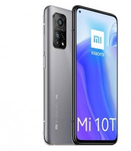 Xiaomi Mi 10T 6.67 2400x1080 6/128GB 5000 mAh Dual SIM 5G Silver